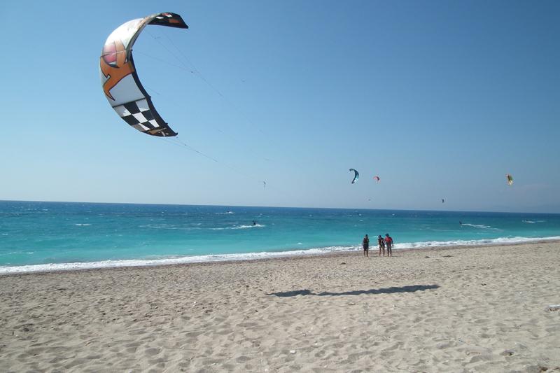 kite surfing lefkada